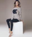 Γυναικείo σετ homewear Think Positive Jadea