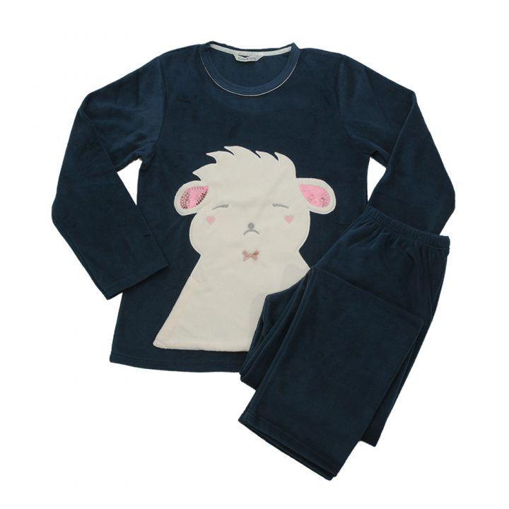 Γυναικεία πυτζάμα fleece Charming Bear Harmony