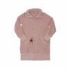Γυναικεία fleece ρόμπα ροζ Harmony