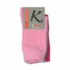 Γυναικεία κάλτσα βαμβακερή μονόχρωμη 3 τεμαχίων