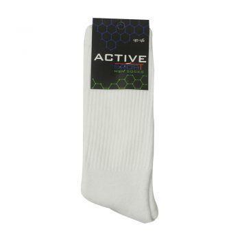 Ανδρική κάλτσα βαμβακερή μονόχρωμη Active σε διάφορα χρώματα