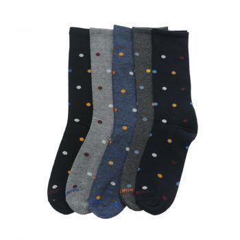 Ανδρική κάλτσα βαμβακερή πουά σε διάφορα χρώματα Carpenter