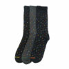 Ανδρική κάλτσα βαμβακερή σχέδιο Letters σε διάφορα χρώματα Carpenter