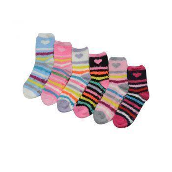 Γυναικεία αντιολισθητική κάλτσα Hearts