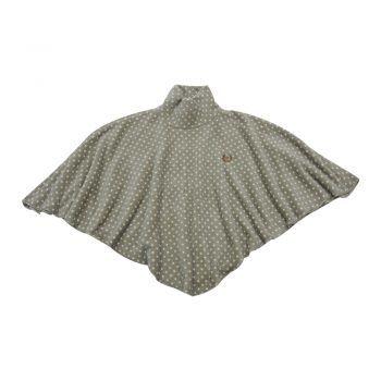 Γυναικεία fleece κάπα πουά