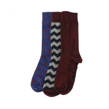 Ανδρική κάλτσα βαμβακερή 3 Pack John Frank