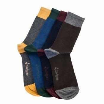 Ανδρική κάλτσα βαμβακερή δίχρωμη