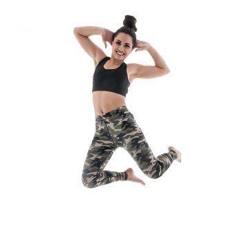 Γυναικείο αθλητικό κολάν Army