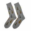 Ανδρική κάλτσα βαμβακερή σχέδιo Tie