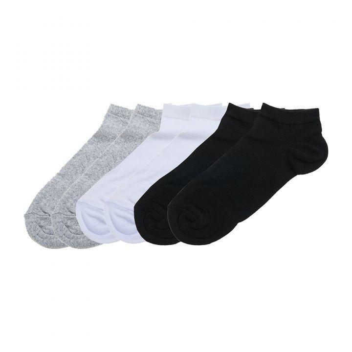 Ανδρική βαμβακερή κάλτσα κοφτή 6 τεμάχια