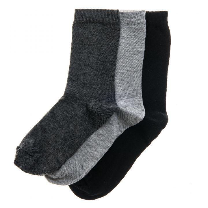Παιδική κάλτσα βαμβακερή unisex σετ 3 τεμαχίων