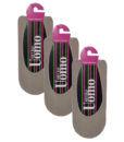 Ανδρική αόρατη βαμβακερή κάλτσα σετ 3 τεμαχιων