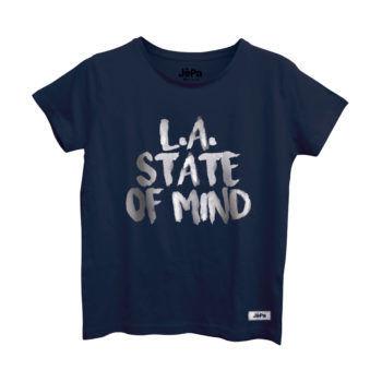 Γυναικεία μπλούζα με στάμπα L.A STATE OF MIND