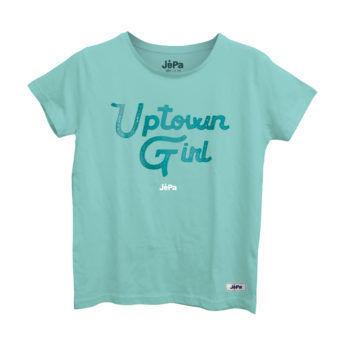 Μπλούζα γυναικεία με στάμπα Uptown Girl