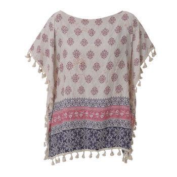 Γυναικεία μπλούζα με σχέδιο λαχούρια BLE
