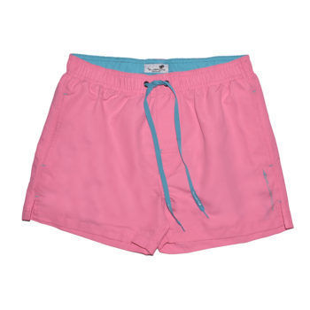 Ανδρικό μαγιό σορτς ροζ χρώμα BLUEPOINT