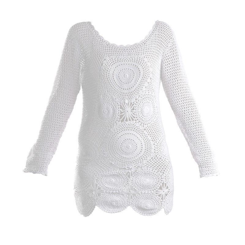 ad1f79c4c28b Γυναικεία   Ρούχα   Πλεκτά   Μπλούζες   Φαρδύ πουλόβερ με βισκόζη ...