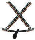 Γυναικείο μαγιό σταθερό τρίγωνο boho Bluepoint