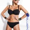 Γυναικείο μαγιό strapless μαύρο CUP E Bluepoint