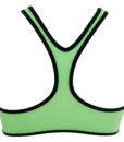 Γυναικείο λαχανί φλούο μαγιό σετ με αθλητικό μπουστάκι KOM