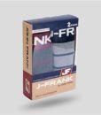 Aνδρικό βαμβακερό ριγέ μποξεράκι 2 τεμαχίων John Frank