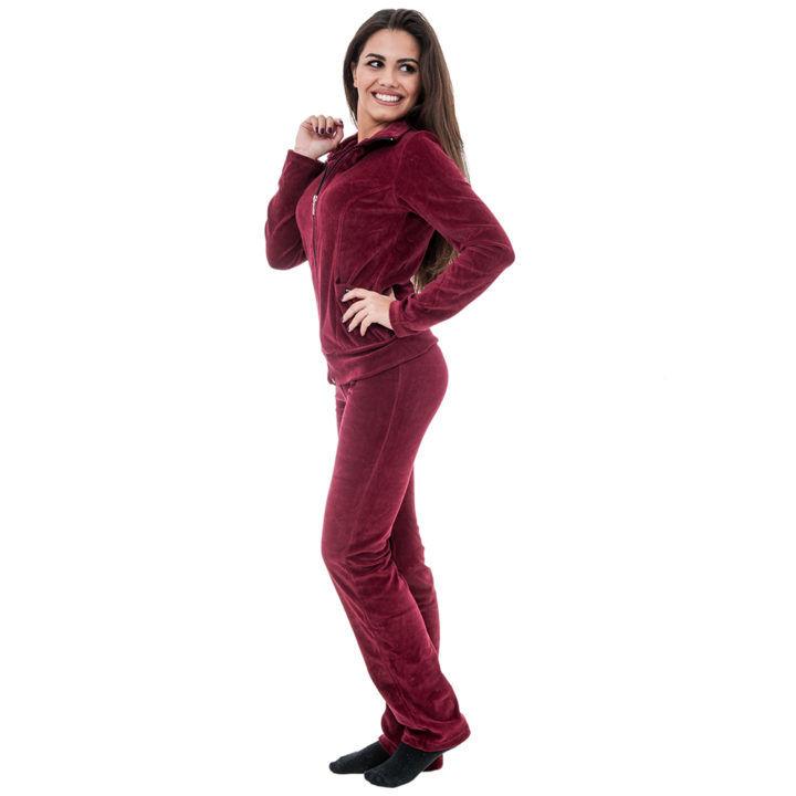 Γυναικείο παντελόνι φόρμας βελούδο Bodymove